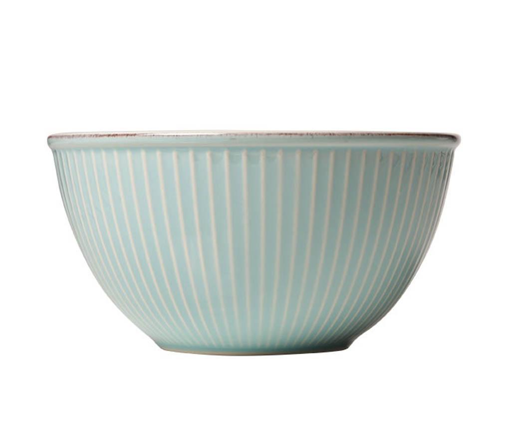 Bol pentru salata Little Stripes Blue 750 ml