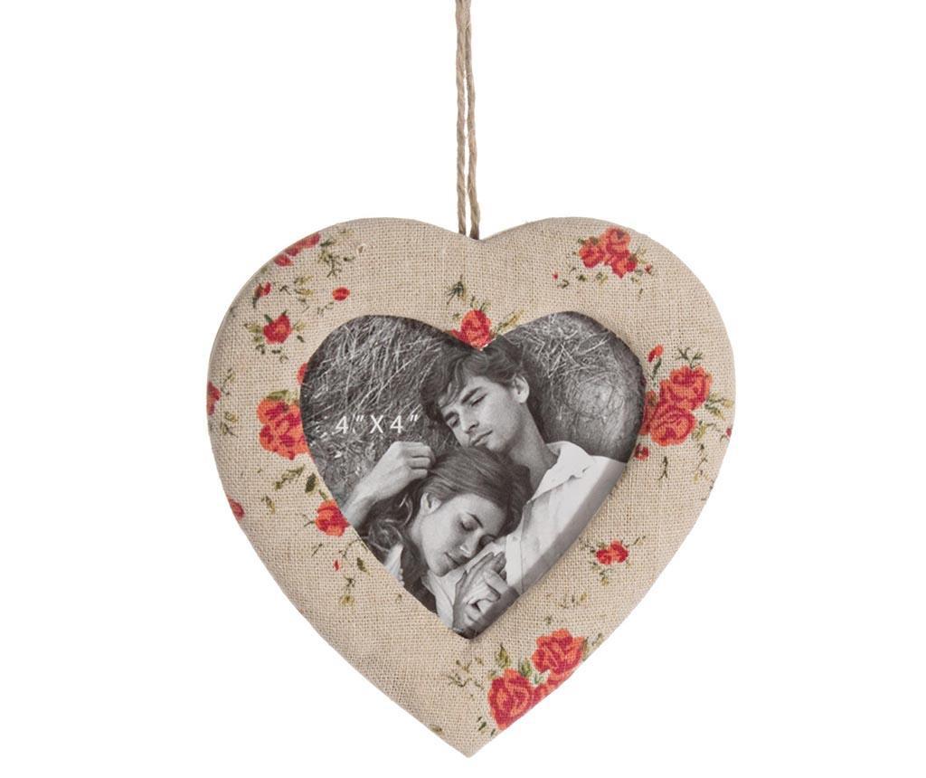 Okvir za slike Heart Flowers