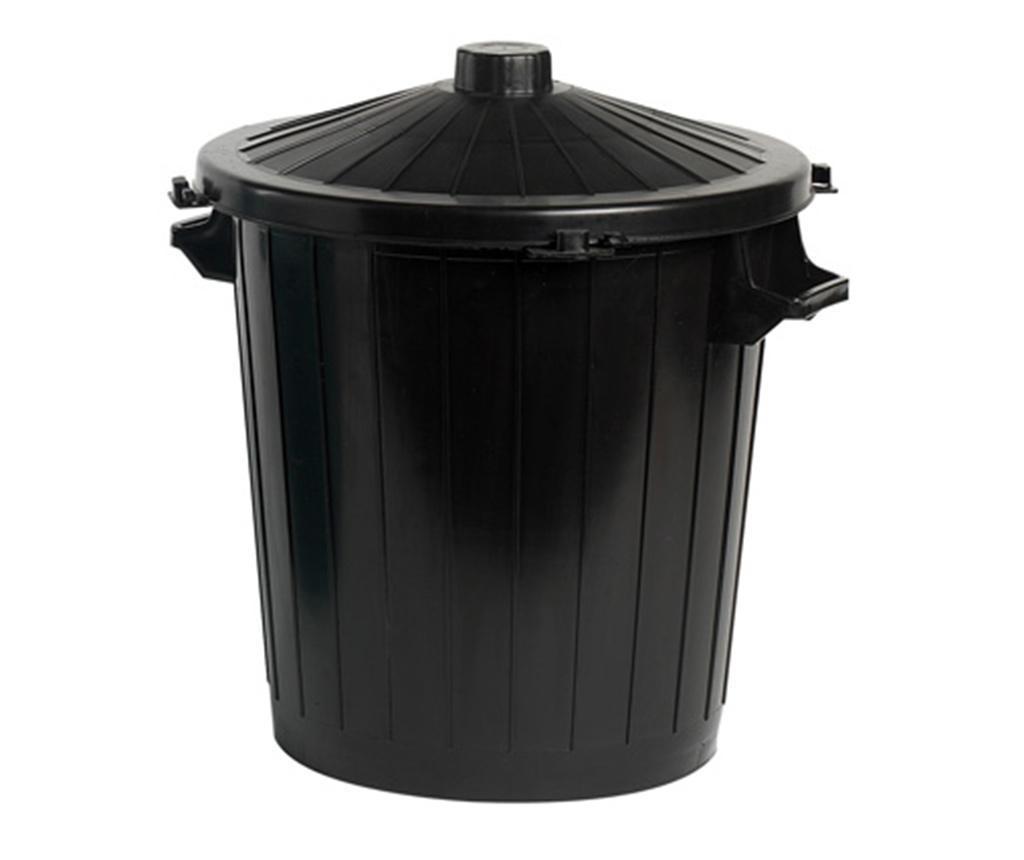 Kanta za smeće s poklopcem Raw Black 50 L