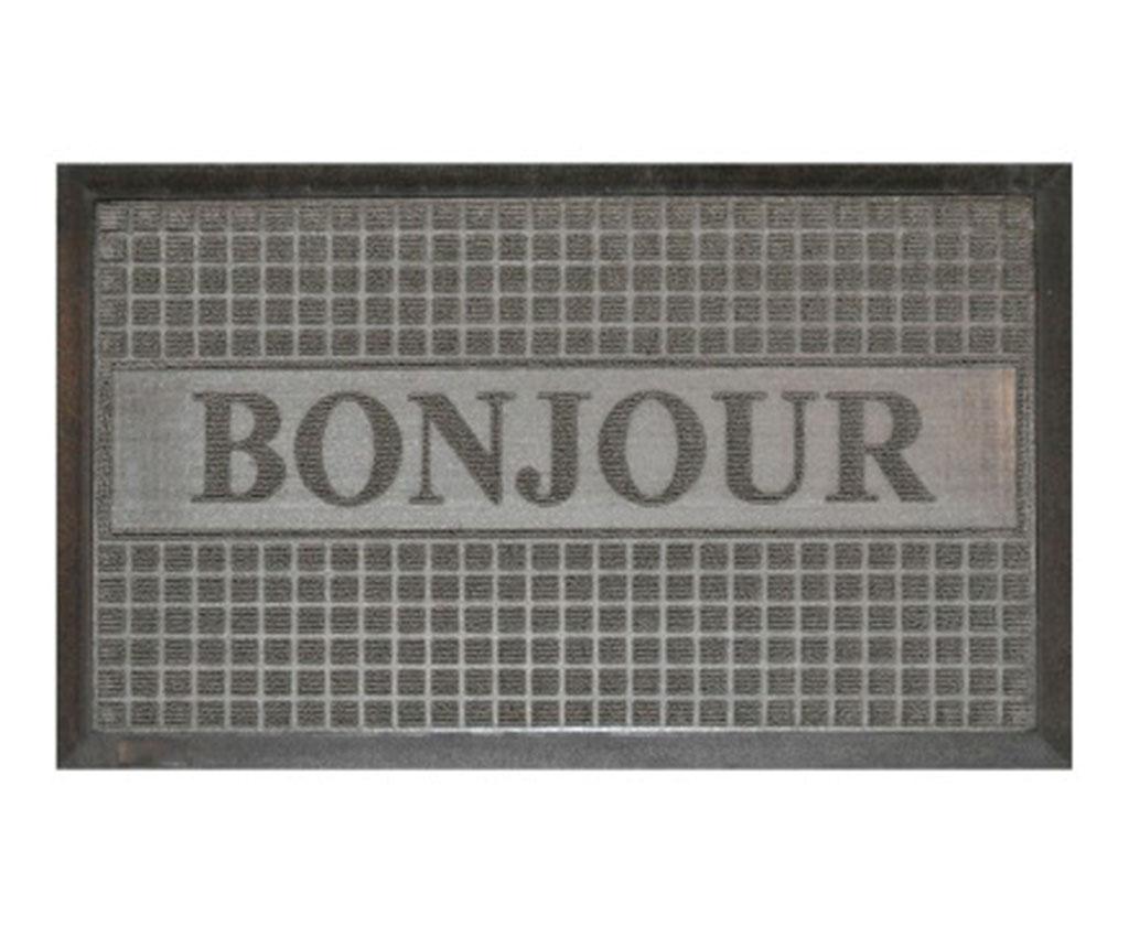 Covoras de intrare Bonjour Grey 45x75 cm