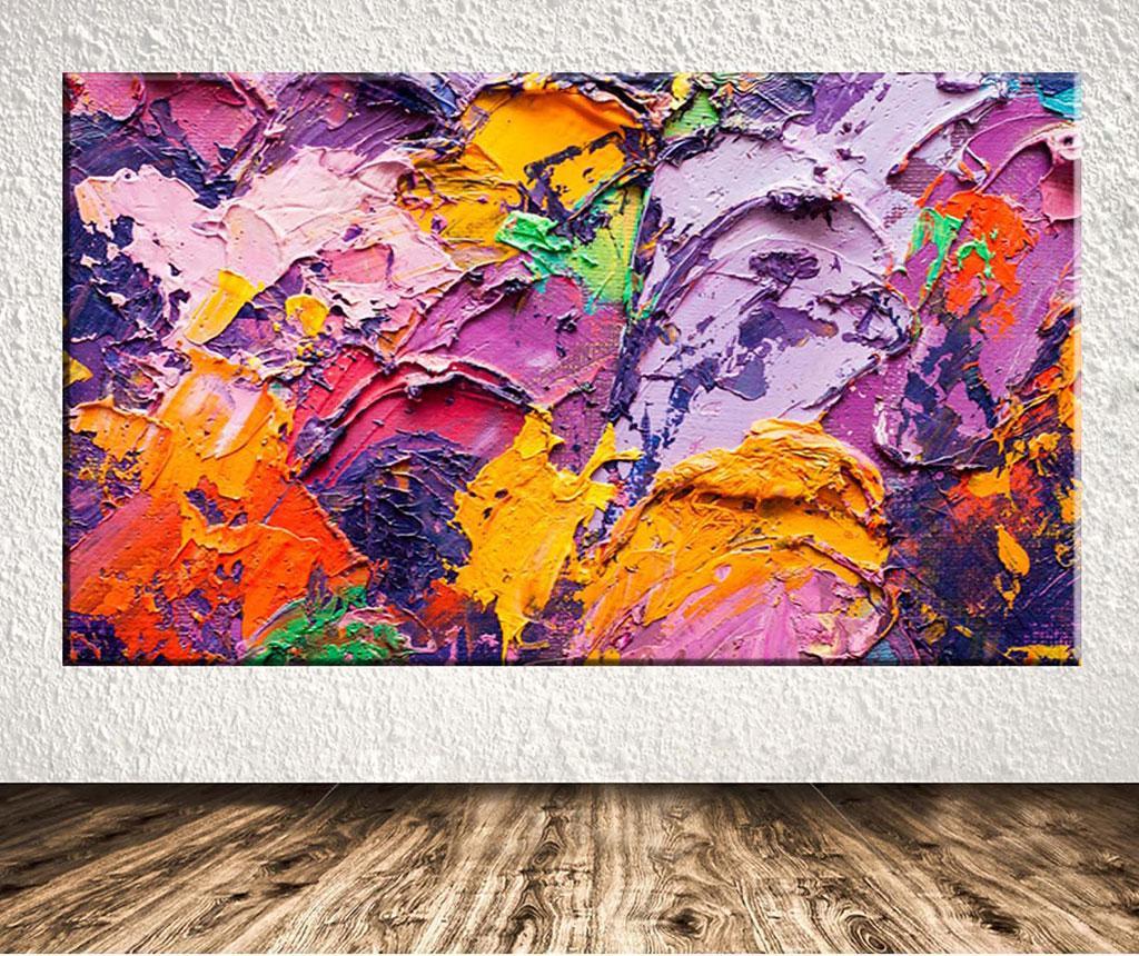 Tablou Colorful Strokes 100x140 cm