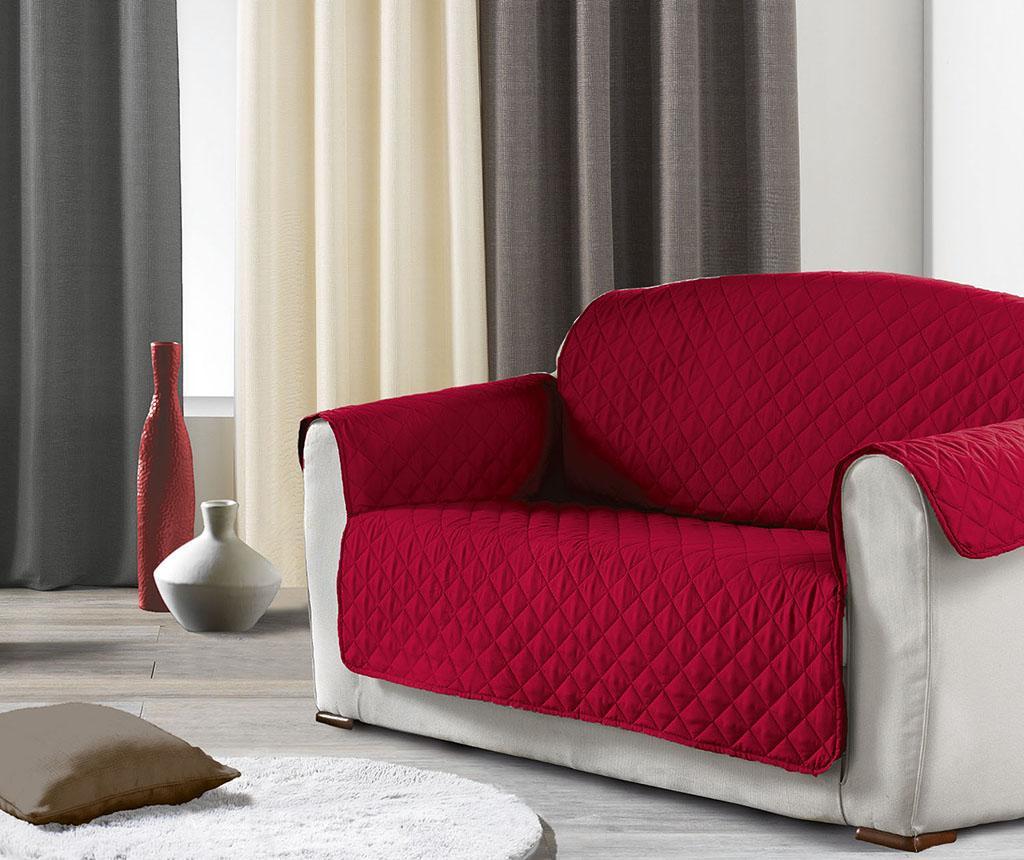 Prošivena navlaka za kauč Club Red 179x279 cm