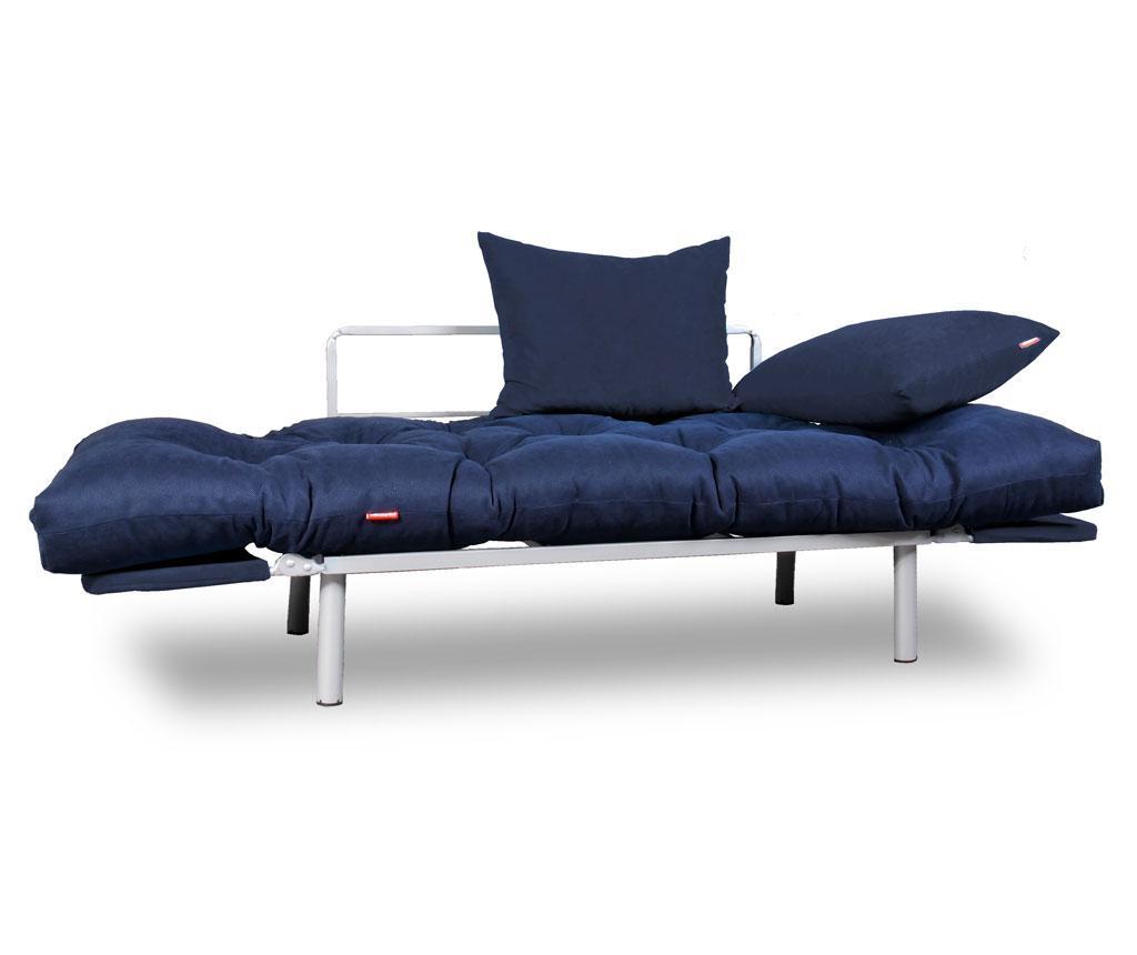 Sofa extensibila Relax Navy Full