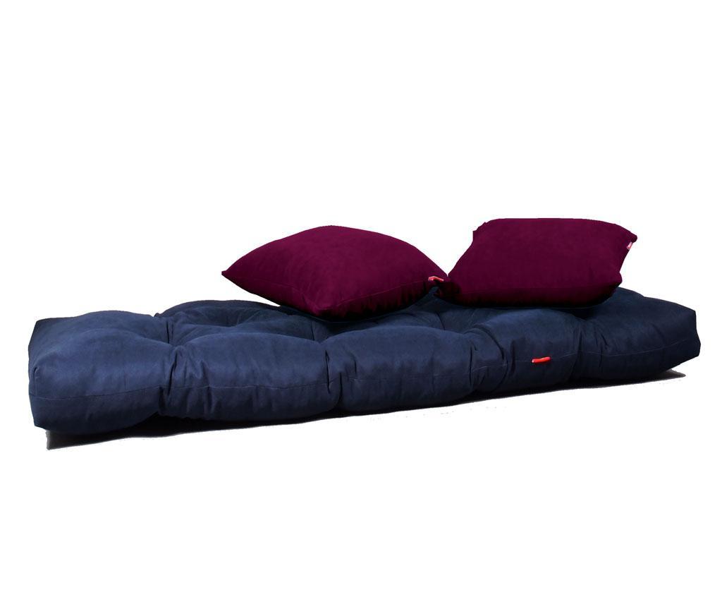 Sofa extensibila Relax Navy Plum