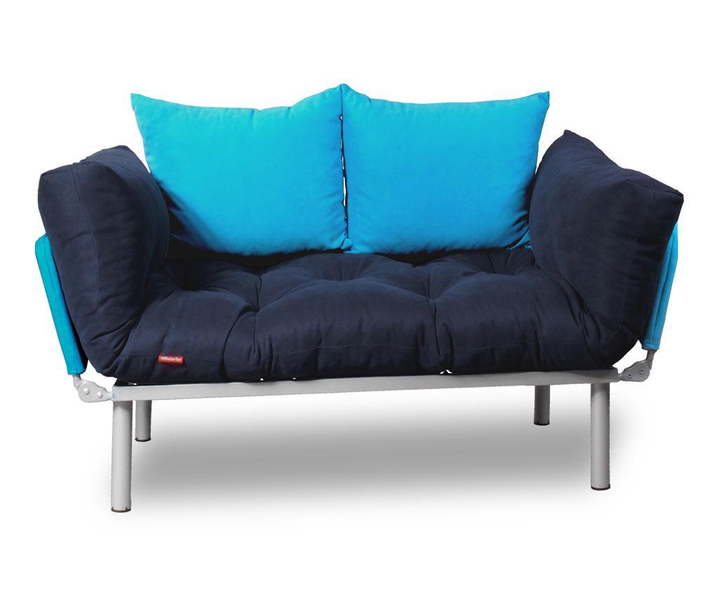 Разтегателен диван Relax Navy Turquoise