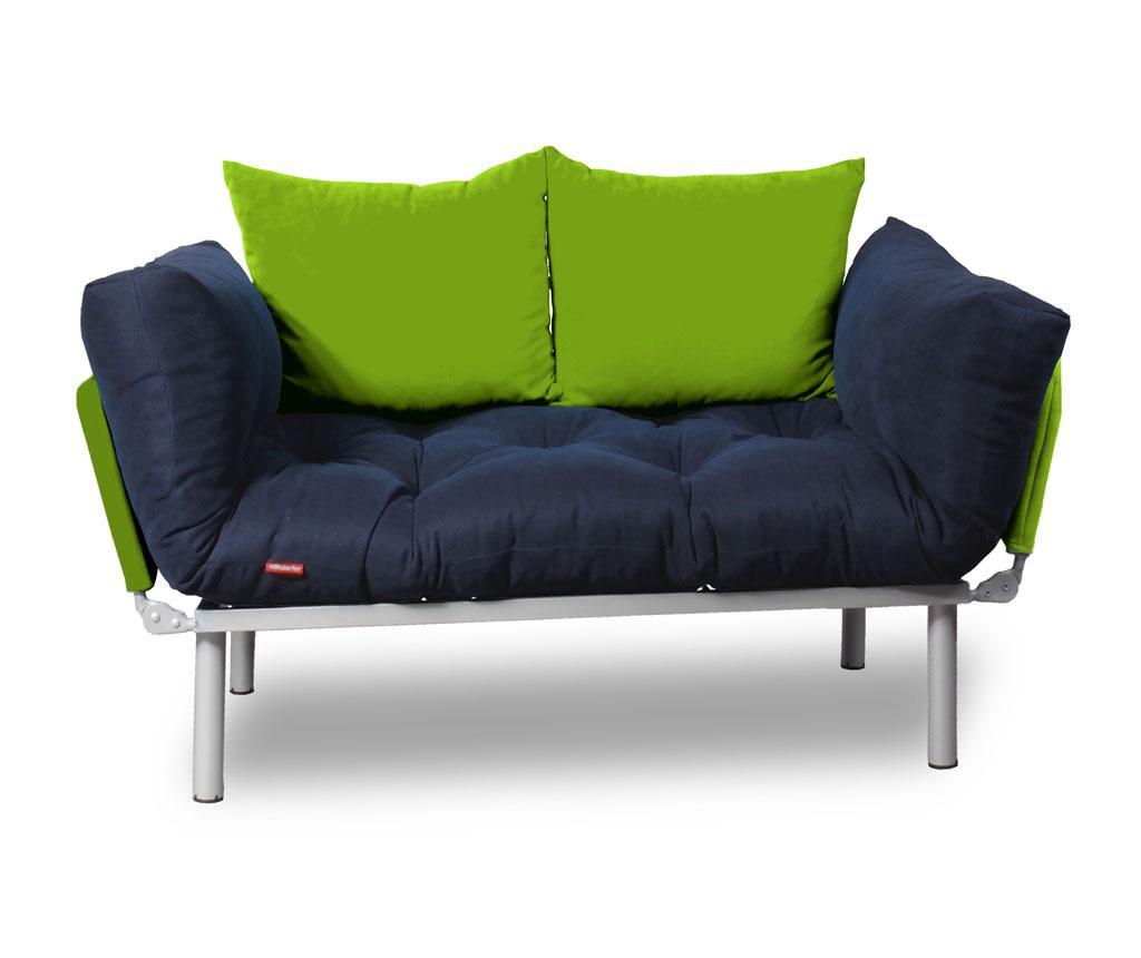 Sofa extensibila Relax Navy Green