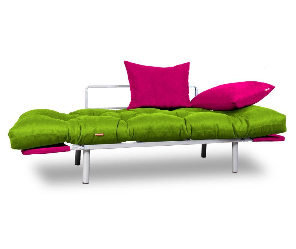 Sofa rozkładana Relax Green Pink