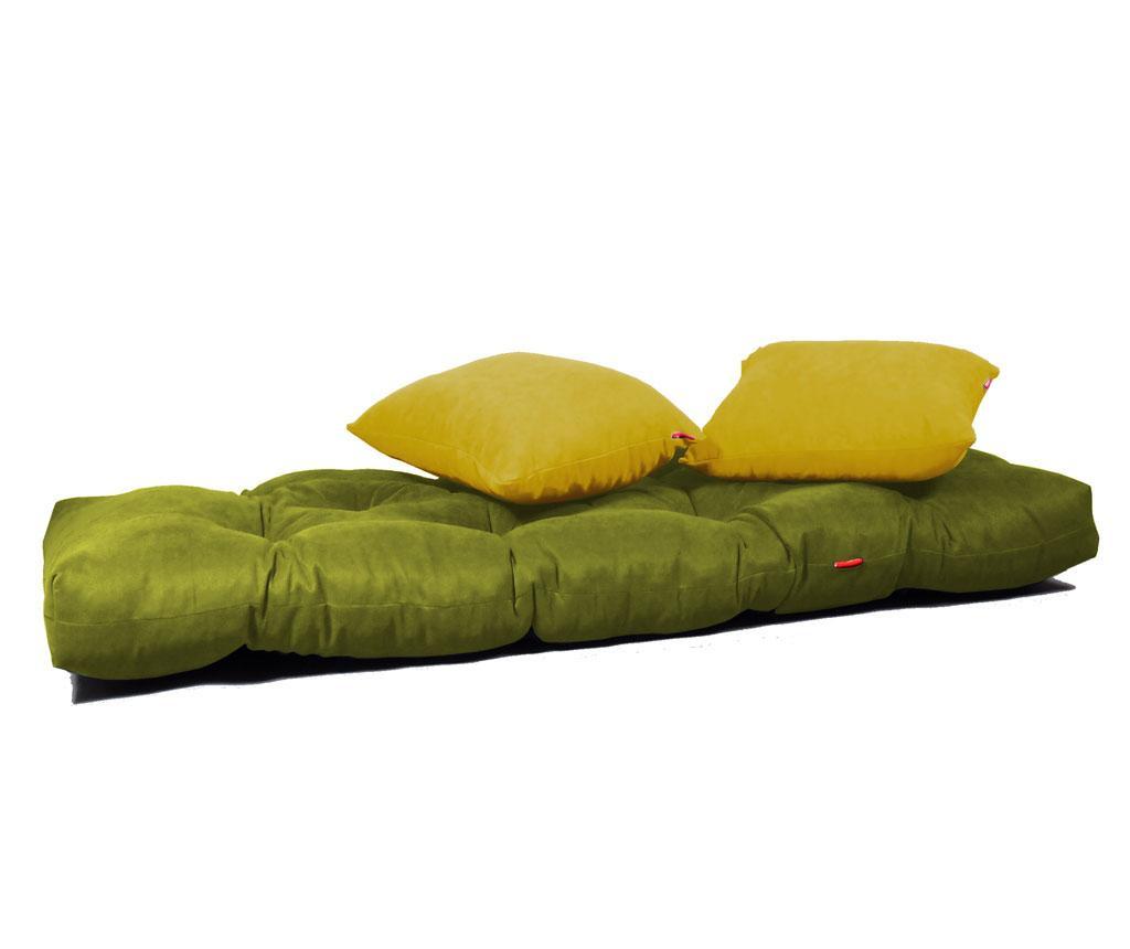 Rozkládací pohovka Relax Green Yellow