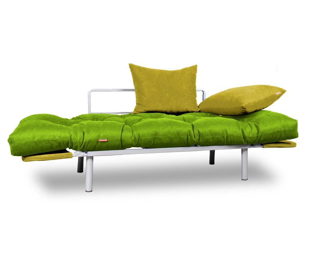Kauč na razvlačenje Relax Green Yellow