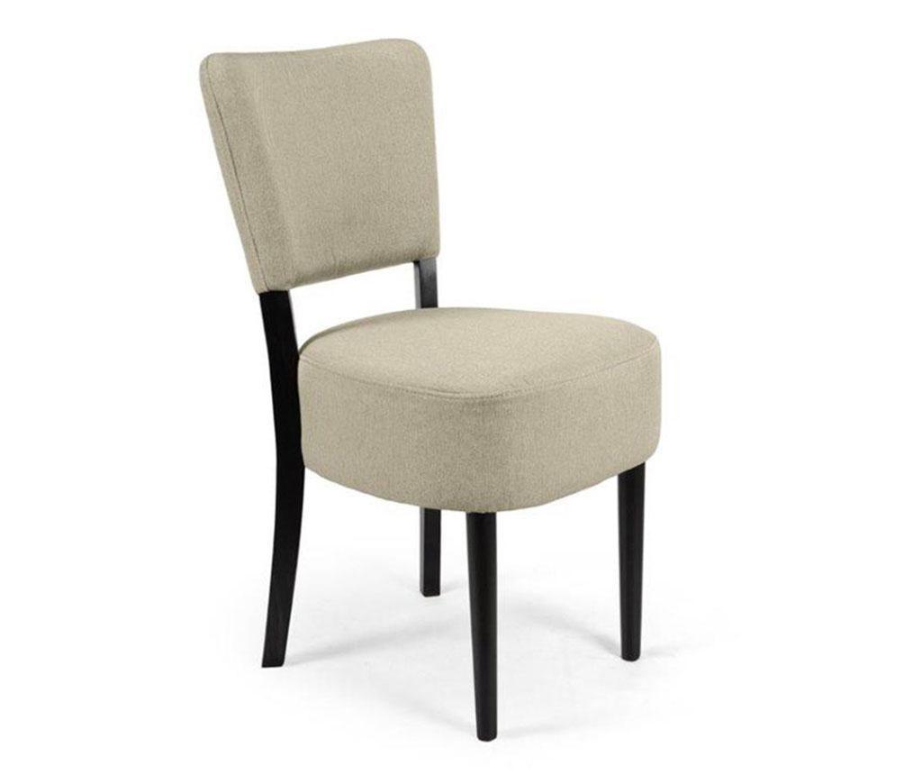 Καρέκλα Nisa Light Grey Simple Classic