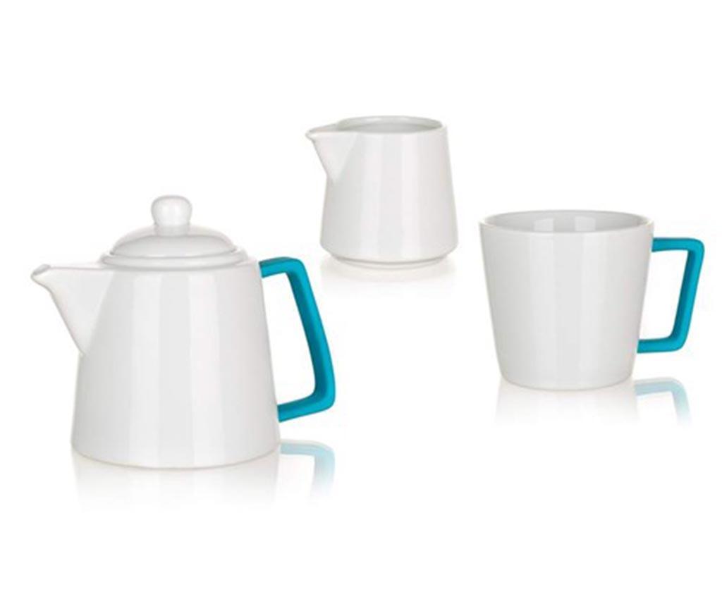 Set  pentru ceai 3 piese Plus Blue
