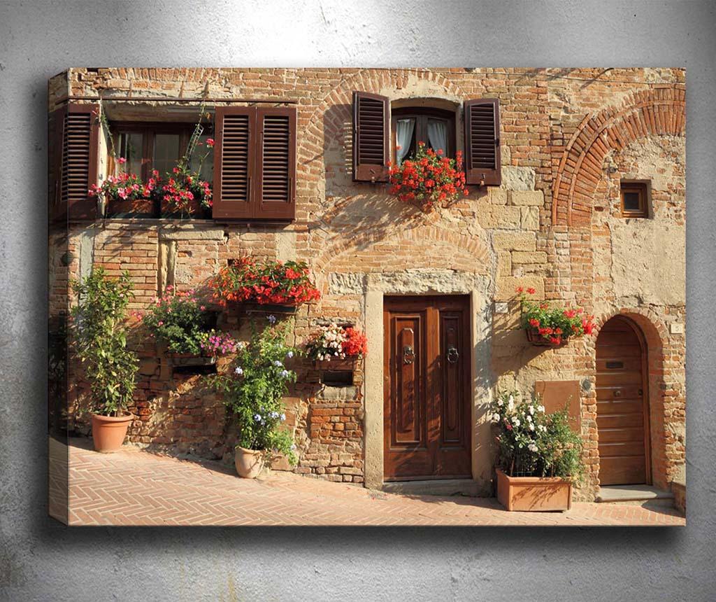 Tablou 3D Window 50x70 cm