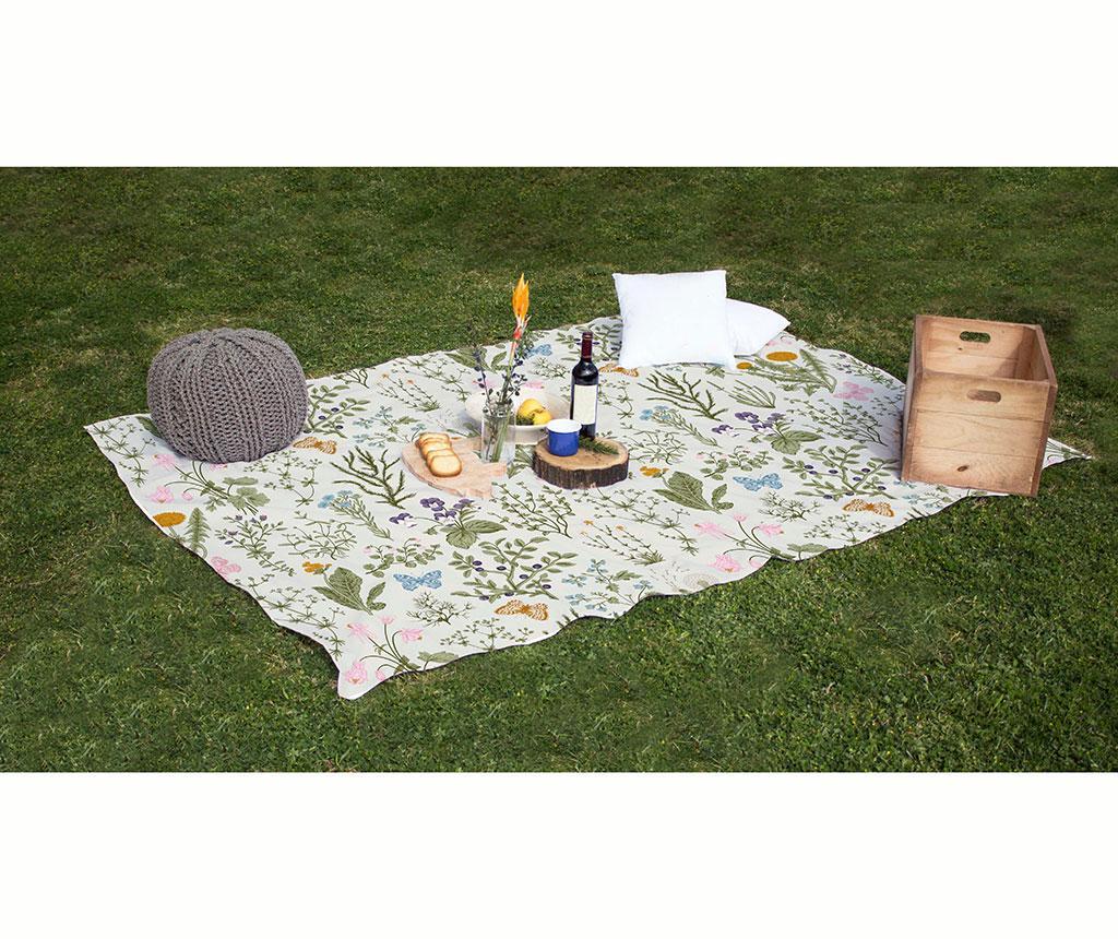 Koc piknikowy Botanic 140x170 cm