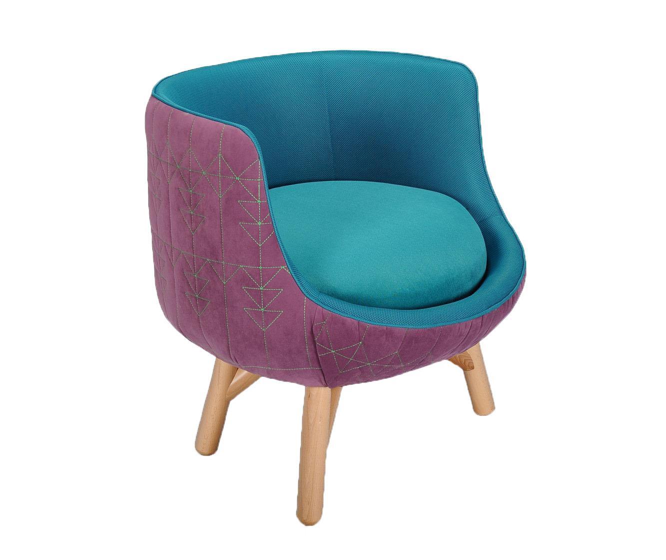 Tarka Small Purple Blue Fotel