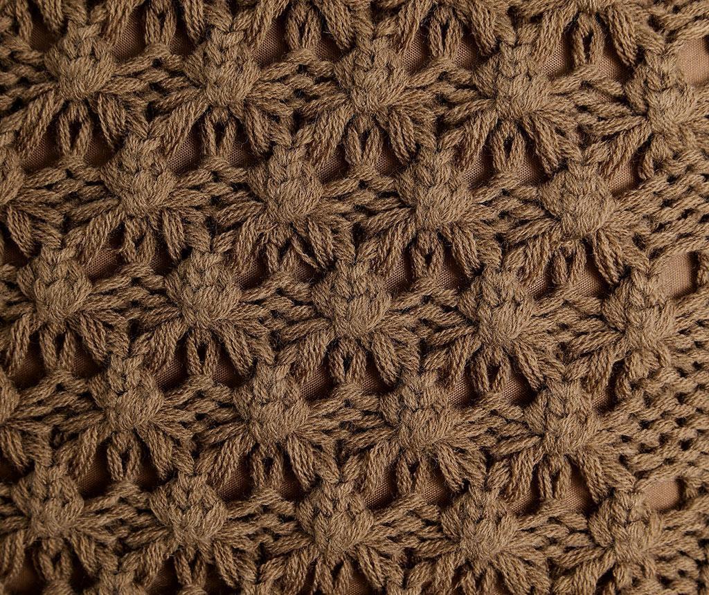 Perna decorativa Denmark Brown 45x45 cm