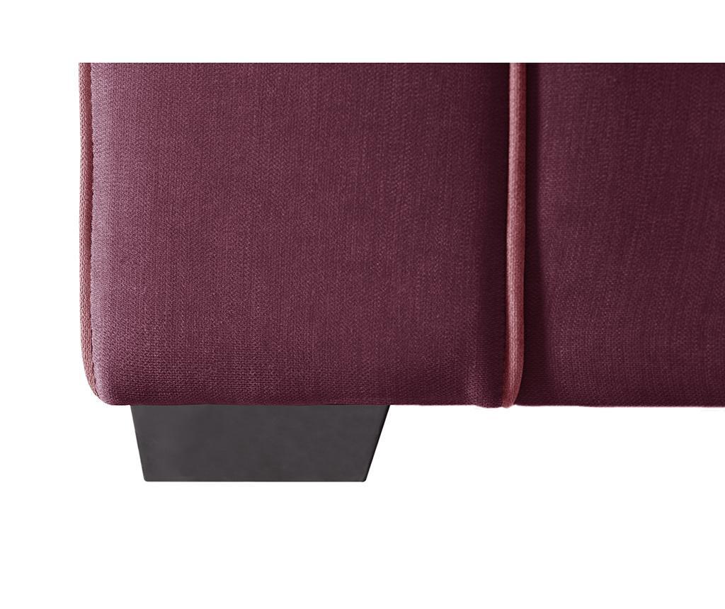 Canapea 3 locuri Serena Bordeaux