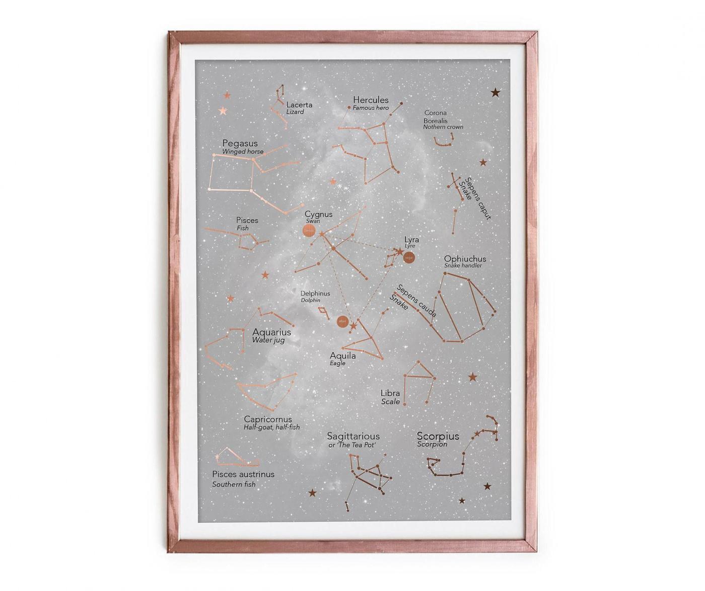 Tablou Constellation 40x60 cm