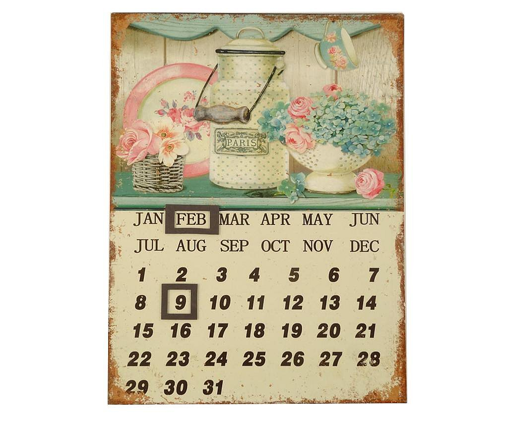 Kalendar Romantic Kitchen