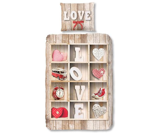 Set de pat Single Love