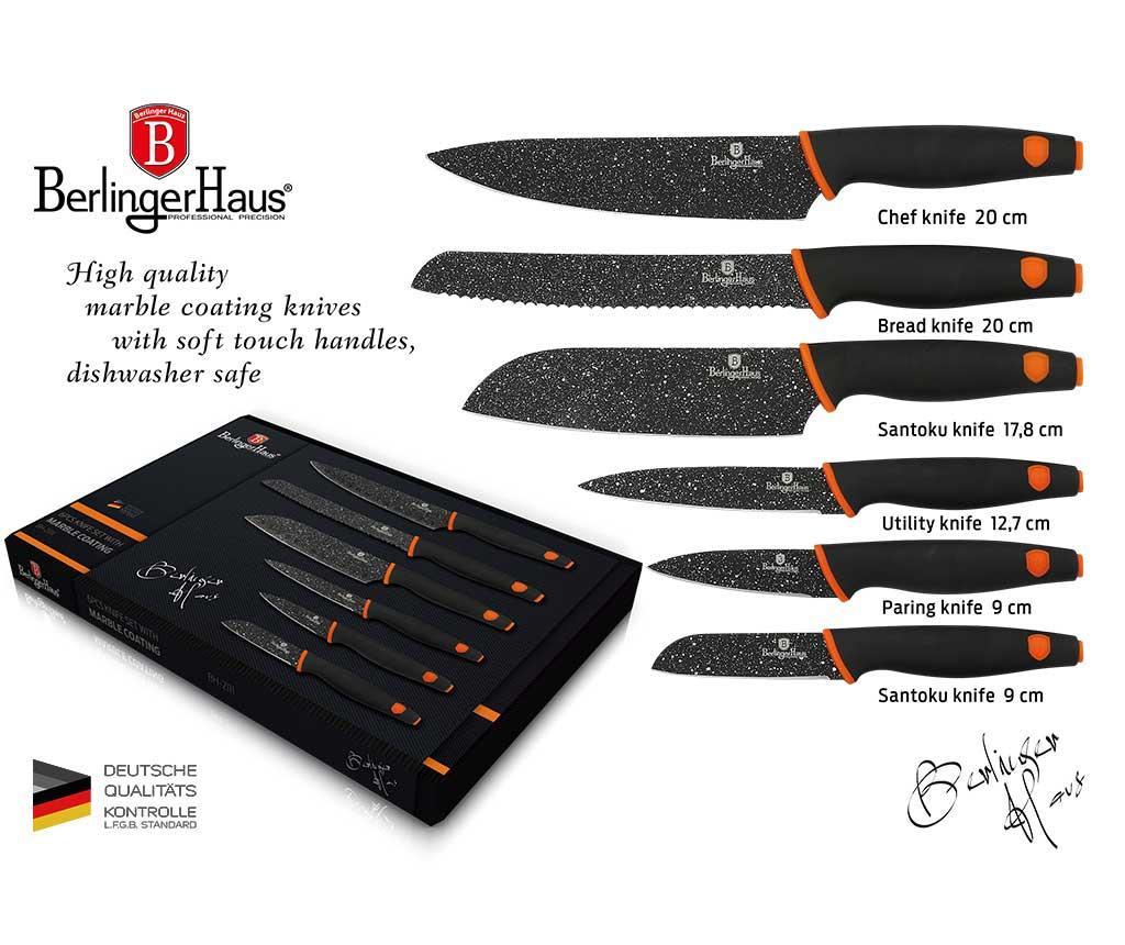 Комплект 6 ножа Granit Diamond