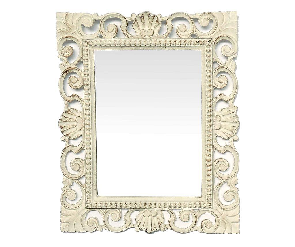 Oglinda Cornice Antique White