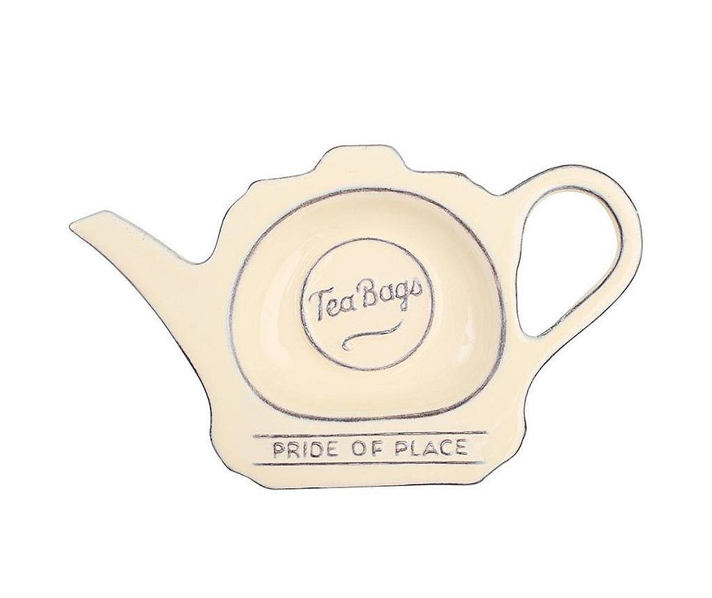 Suport pentru pliculete de ceai Pride Cream
