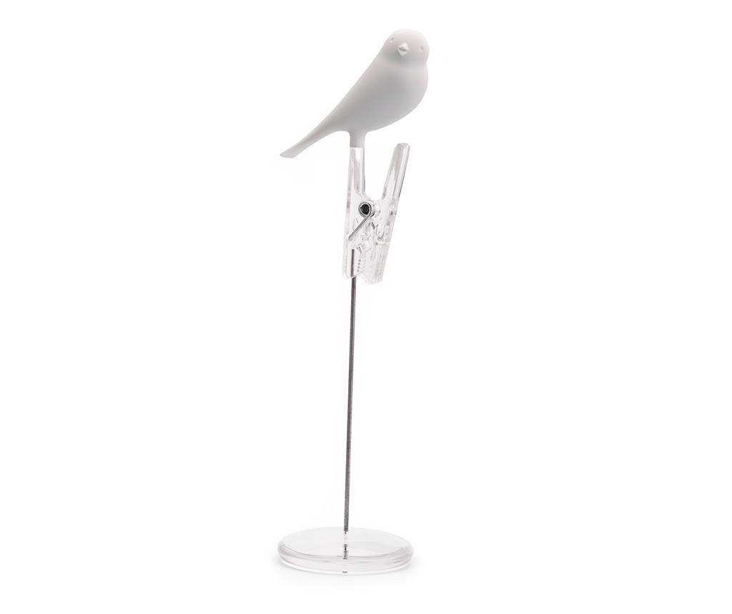 Suport pentru carduri de masa Sparrow White
