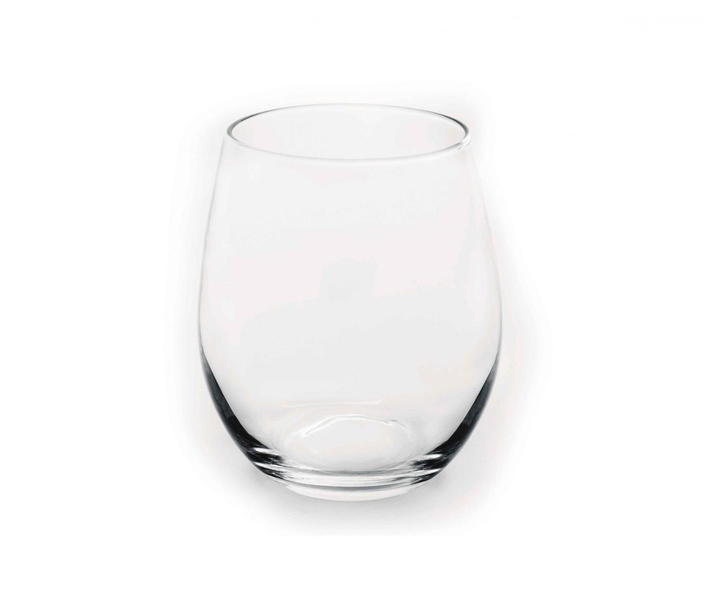 Set 6 pahare pentru apa Dovan 390 ml
