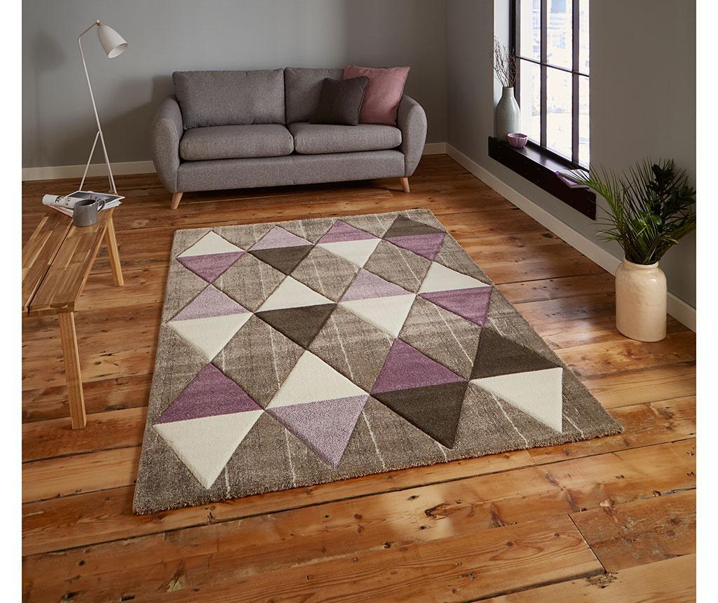 Covor Brooklyn Beige Purple 120x170 cm