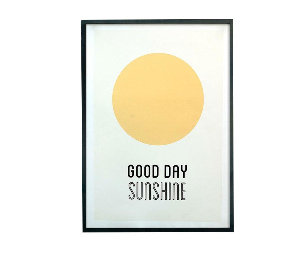 Tablou Sunshine Good Day 43x63 cm