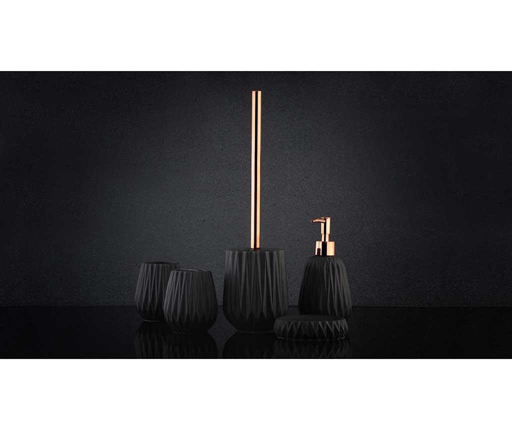 Dispenser sapun lichid Briar Black 330 ml
