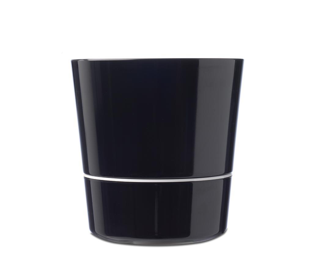 Ghiveci cu sistem de autoirigare Hydro Black