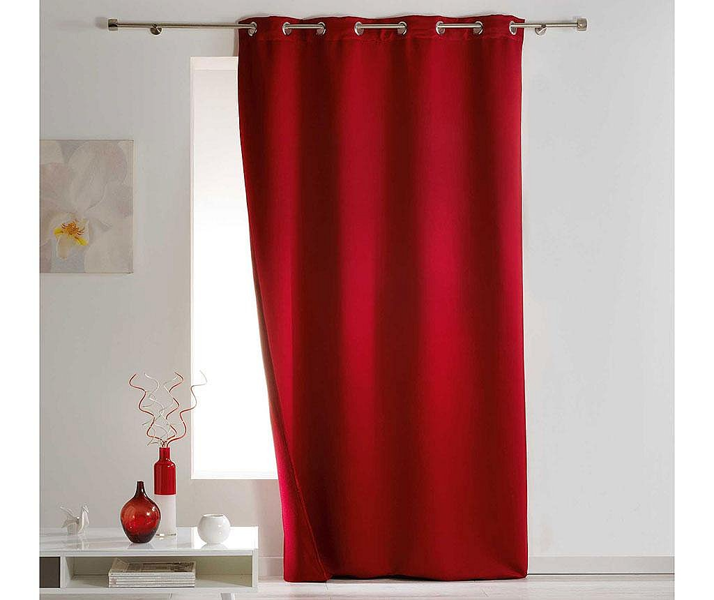 Draperie Covery Red 140x260 cm