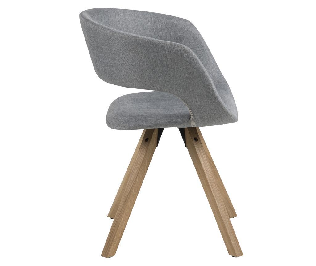 Καρέκλα Grace Cross Light Grey