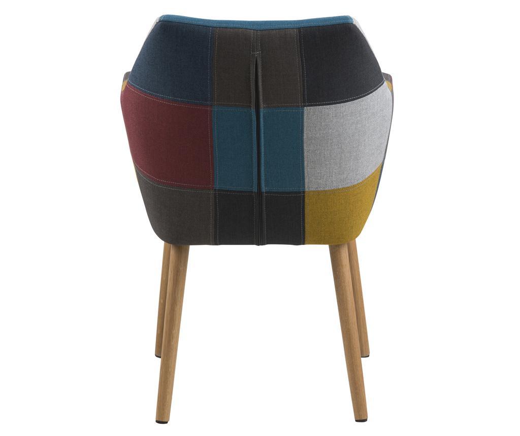 Stol Nora Patchwork Multi Colour