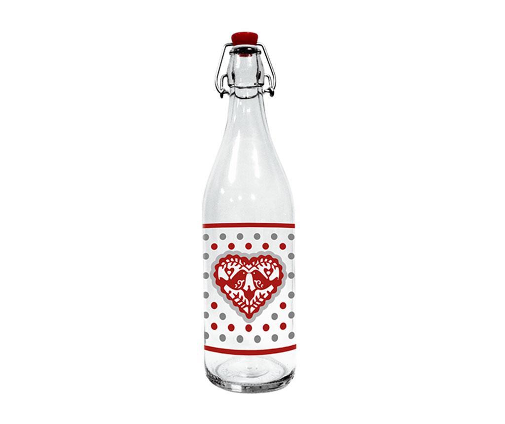 Sticla cu dop Jolly Hearts 1 L
