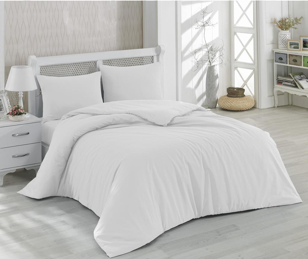 Set posteljina Double Ranforce Mono White 200x220