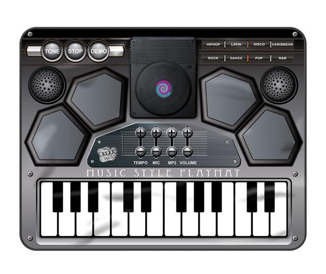 Covor muzical cu activitati Music Style 70x90 cm