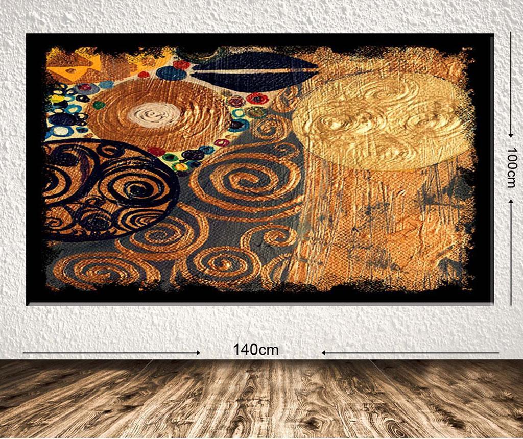 Tablou Dream of Gold 100x140 cm
