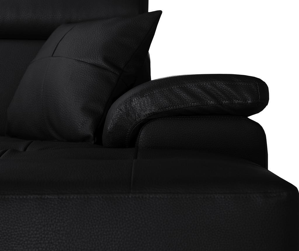 Canapea 2 locuri Confidential Black