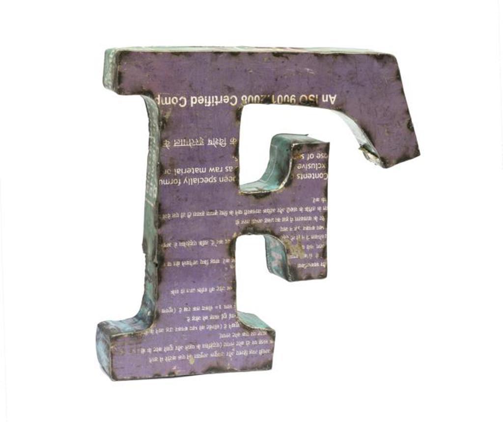 Ukras Letter F