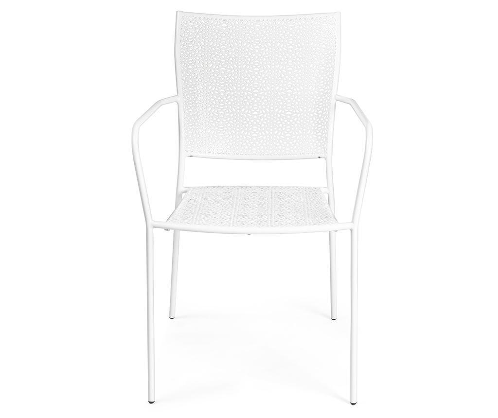 Krzesło ogrodowe Daffodil White