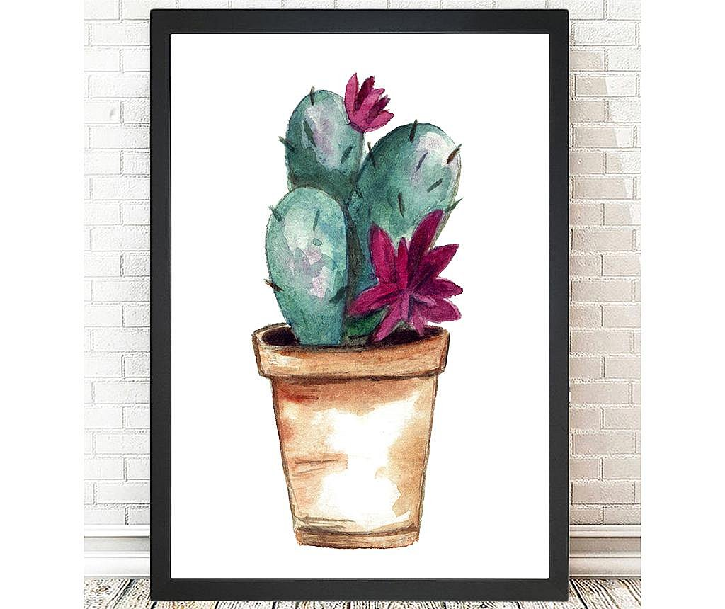 Tablou Lovable Cactus 24x29 cm