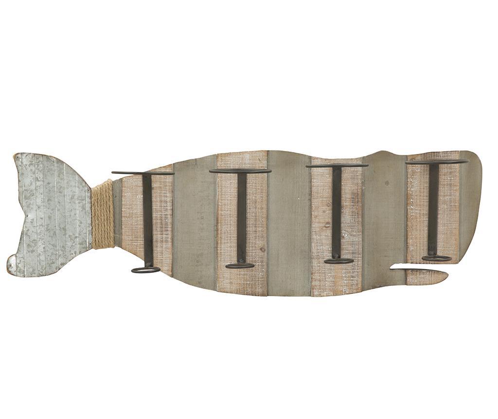 Suport de perete pentru sticle Whale