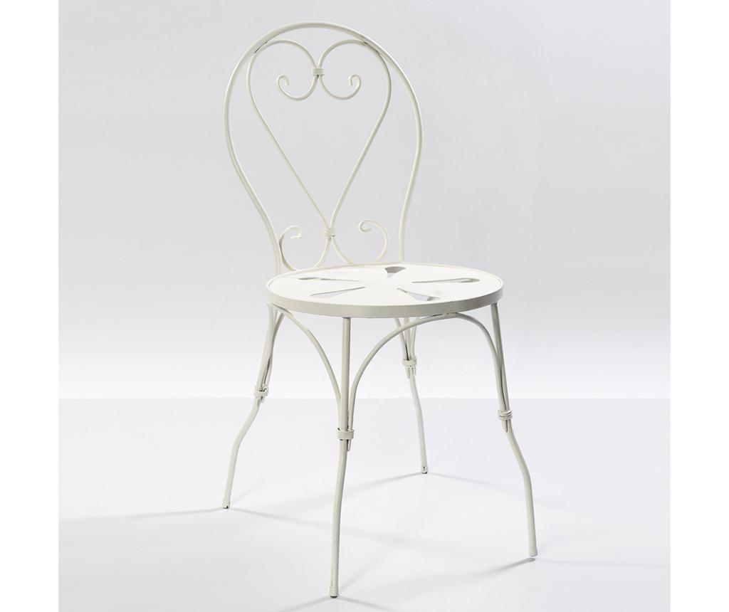 Krzesło ogrodowe Barlet White