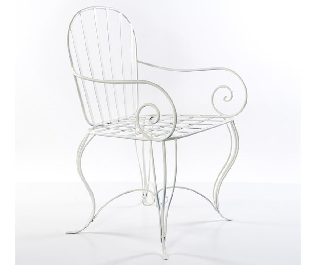 Krzesło ogrodowe Cannes White