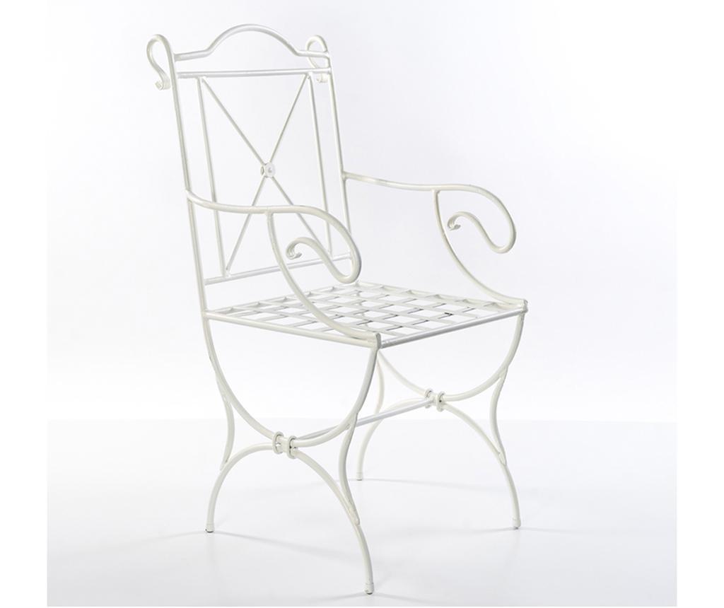 Krzesło ogrodowe Ivon White