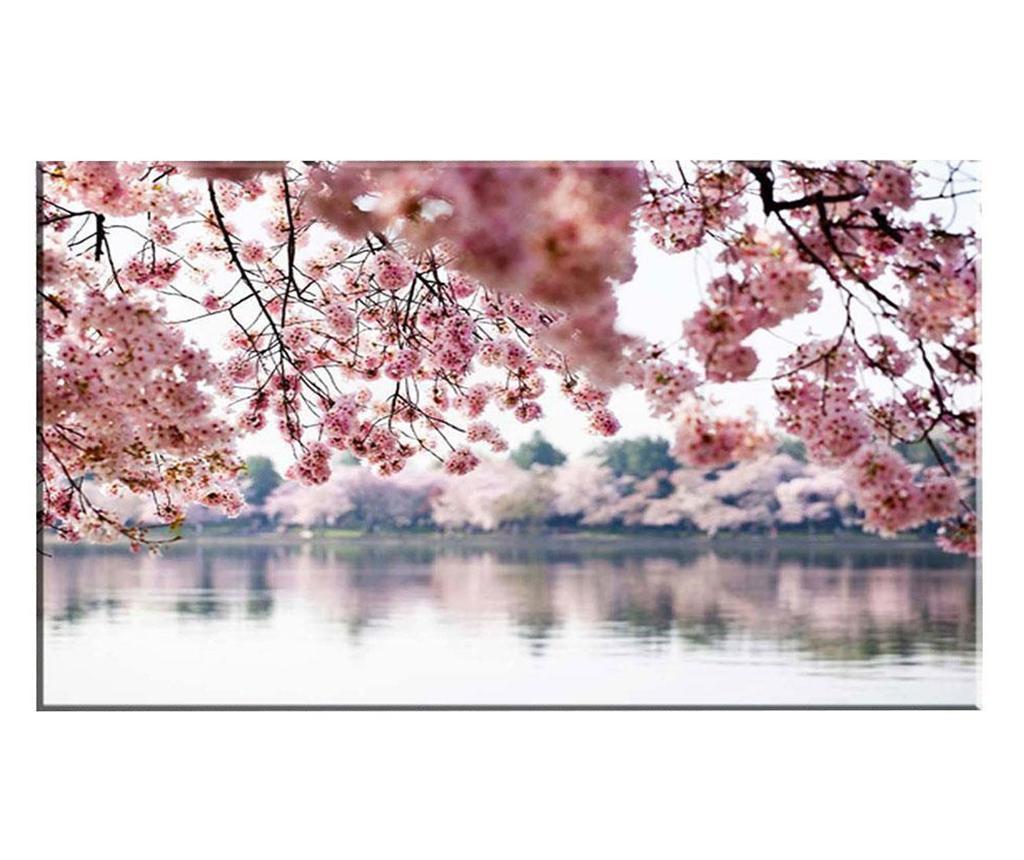 Tablou Blooming Trees 100x140 cm