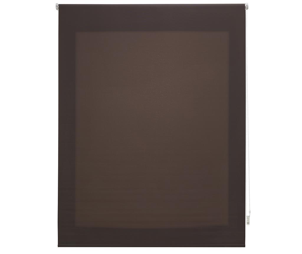 Jaluzea tip rulou Ara Brown 100x250 cm