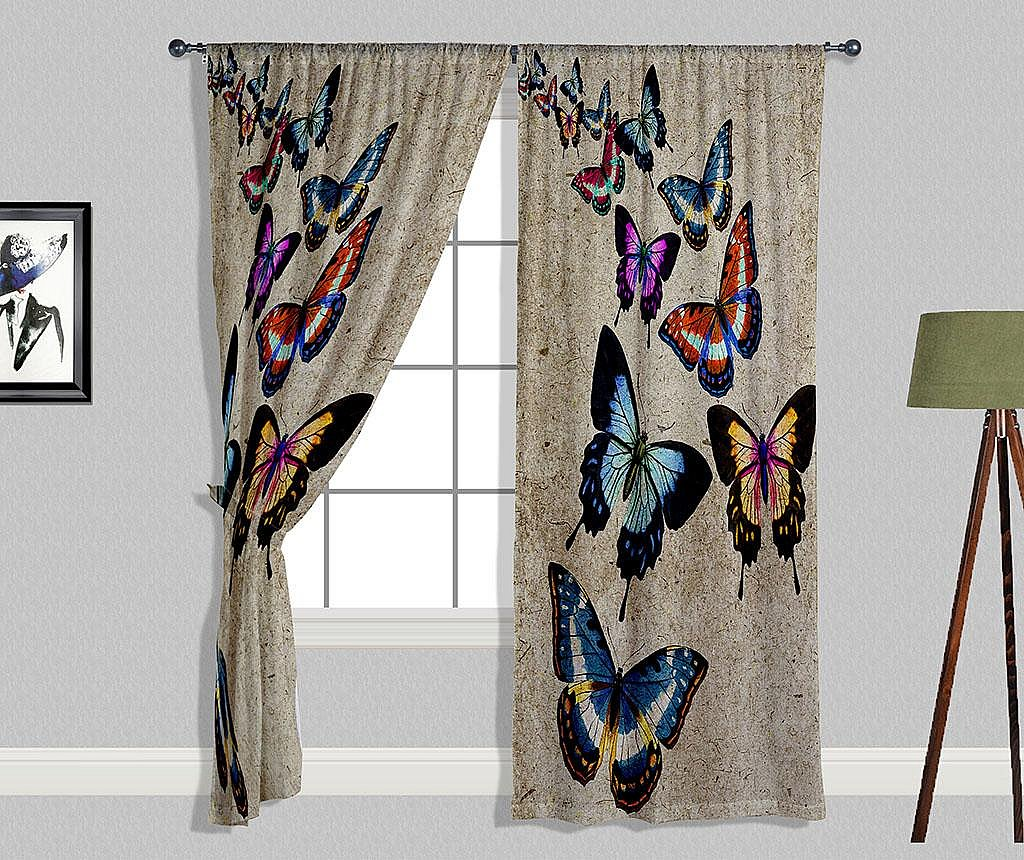Zastor Butterflies 140x240 cm